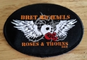 Roses & Thorns Oval Patch Bret Michaels, Roses, Thorns, Roses and Thorns, Patch