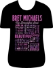 Bret Michaels Beautiful Soul Lyric Tee