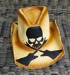 BMB Crossed Guitars Cowboy Hat Natural