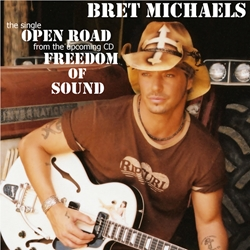 Bret Michaels Open Road CD Single