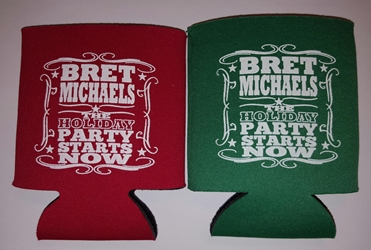 Holiday Party Starts Now Koozie