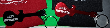 Bret Michaels Key Chain