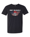 Bret Michaels American Flag Winged Skull